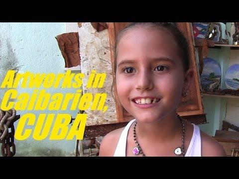 Cuban Arts & Artists: My Trip to CUBA - Artwork Gallery in Caibarien