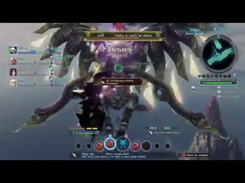 ARES 90 VS TELETHIA LVL 99 | XENOBLADE CHRONICLES X