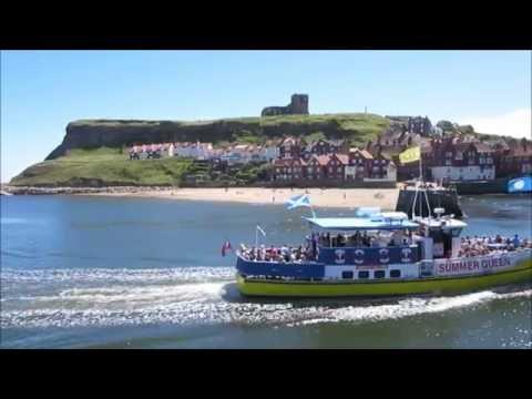 Whitby England UK Seaside Beach Vlog