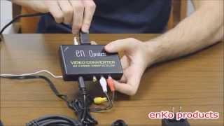 AV / S-video to HDMI Converter Instructions