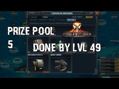 Battle pirates lvl 49 players reach prize pool 5 easy