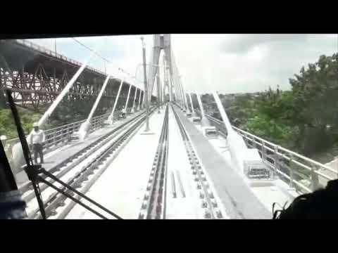 Opret realiza exitosa prueba de la Línea 2B del Metro Santo Domingo