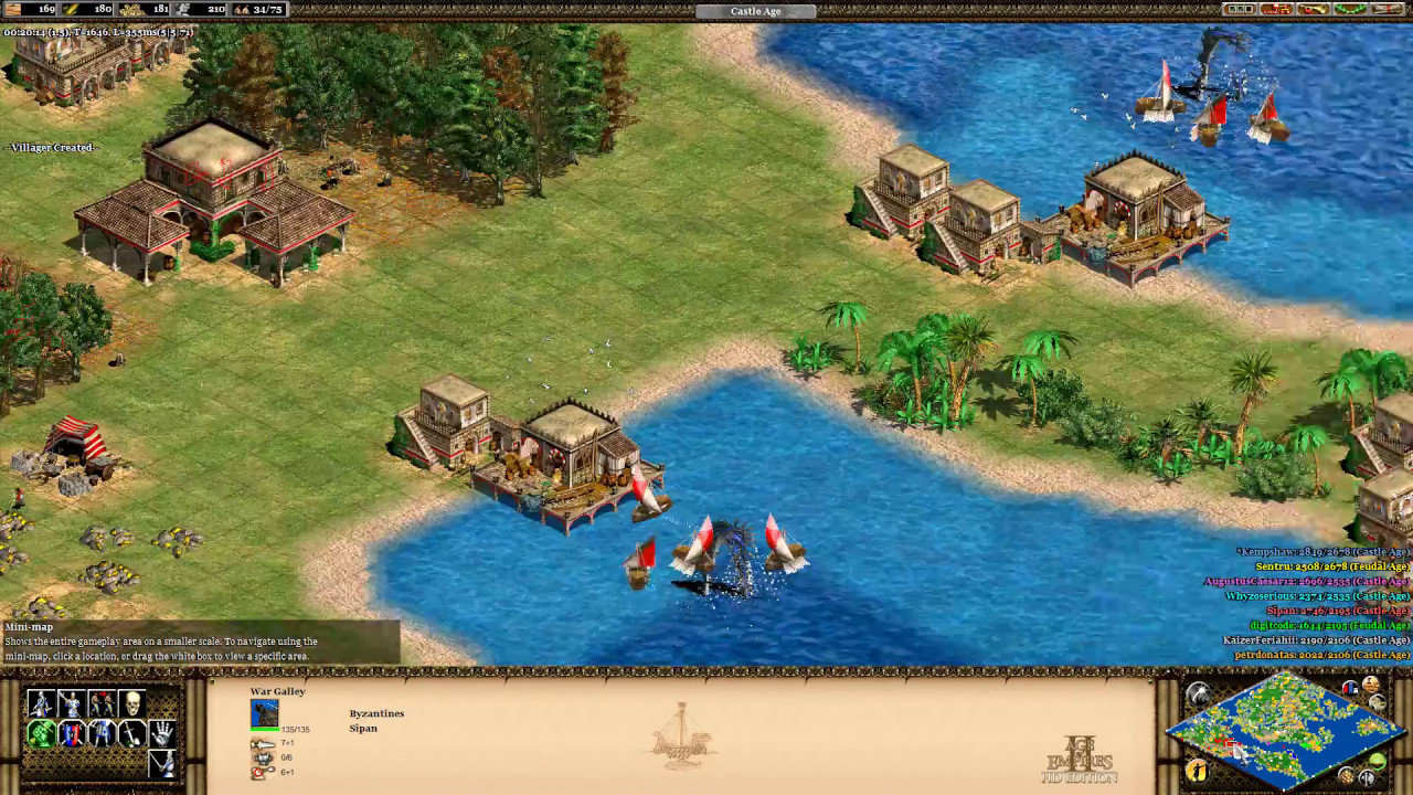 Age of empires ii hd world map full game youtube age of empires ii hd world map full game gumiabroncs Image collections