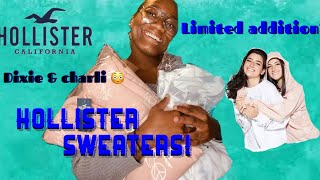 Hollister's Limited ADDITION Charli & Dixie Hoodies (UNBOXING)😱✨