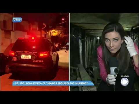 SP no Ar entra em túnel escavado para maior assalto a banco da história