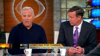Ian Schrager/Arne Sorenson CBS This Morning Interview