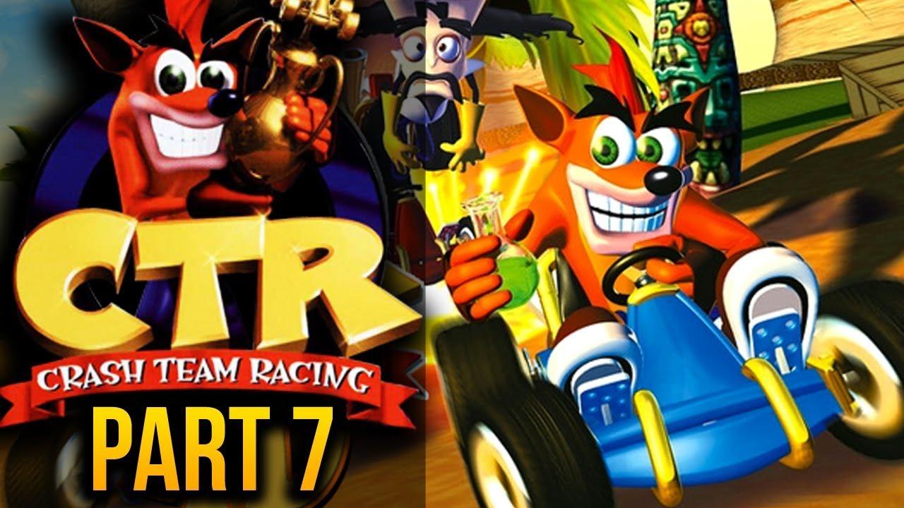 Crash team racing ro