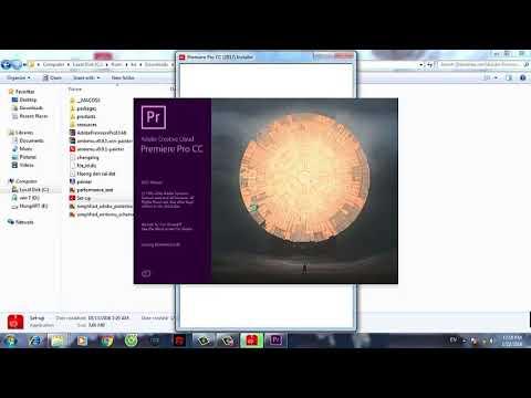 Tải và cài đặt phần mềm Premiere pro cc 2017 bản đầy đủ cho Window 64 bit YouTube