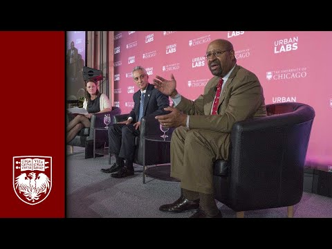 University of Chicago Urban Labs Announcement Panel Discussion