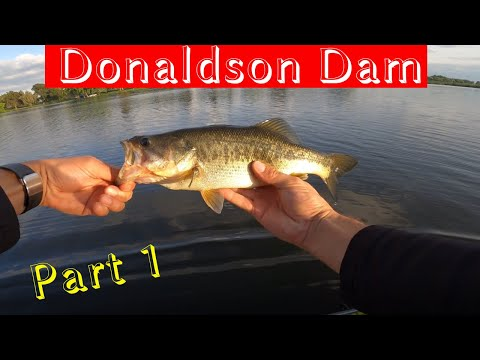 Donaldson Dam: Bass Fishing In South Africa (Part 1)
