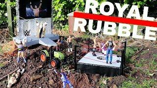 THE ROYAL RUBBLE 2018!!!   WDW #13   WWE Mattel Figure Fun