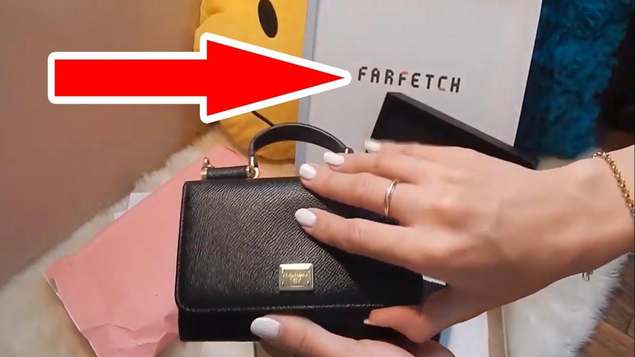 7094bbbe0 تجربة الشراء اون لاين من موقع فارفيتش farfetch - YouTube
