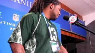 NFL combine -- Iowa DE Adrian Clayborn