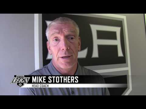 Ontario Reign - 2017 LA Kings Development Camp -  Mike Stothers