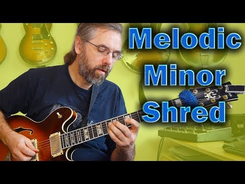 Melodic Minor Shred
