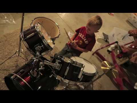 Best Kid Drummer!!