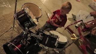 Best Kid Drummer!!