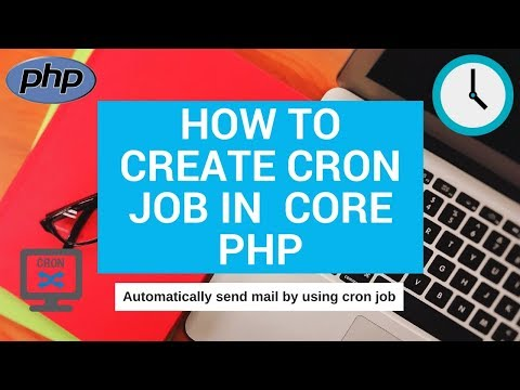 how to create cron job in core php | how to send automatic email in php | shinerweb