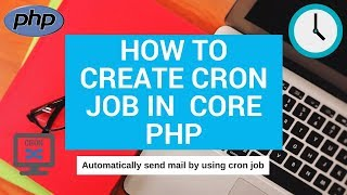 how to create cron job in core php Mp3