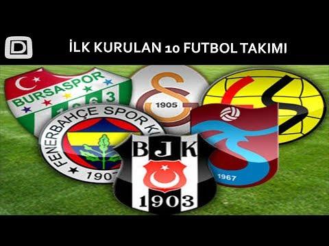 Türk Spor Tarihinin İlk Kurulan 10 TAKIMI