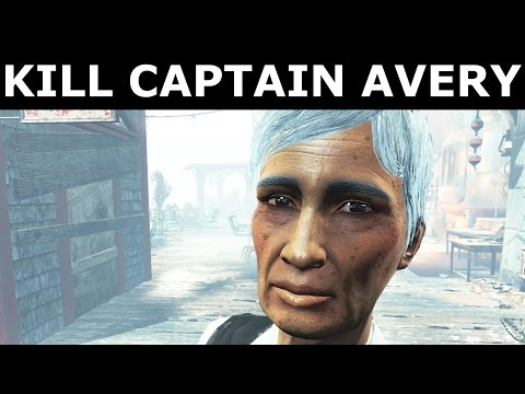 "Fallout 4 Far Harbor - Kill Captain Avery | Save Captain Avery - ""The Way Life Should Be"" Quest"
