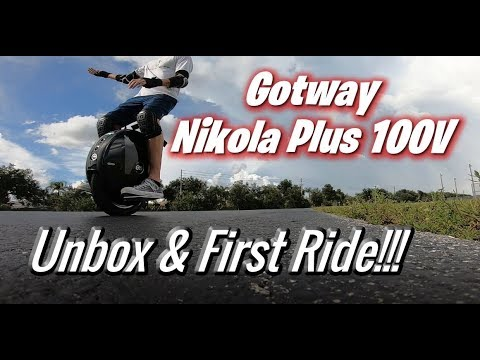 Gotway Nikola Plus 100v - 1845 WH - Unbox and FIRST RIDE !!!