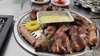 안산 화정동 맛집 한마당바베큐 등갈비