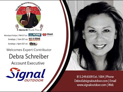 THE REAL ESTATE QUARTERBACK SHOW w/ Debra Schrieber and Abe Moussa REQB Show 7.13.16