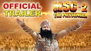 MSG-2 The Messenger | Official Trailer | Saint Gurmeet Ram Rahim Singh Insan