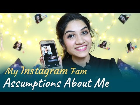 Reacting To My Instagram Followers Assumptions About Me | Mayuri Pandey