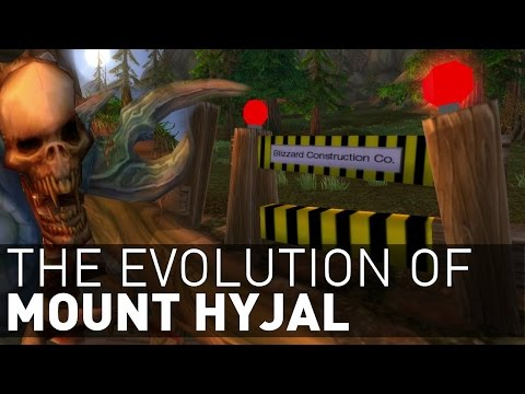 How Mount Hyjal EVOLVED From Warcraft III To Legion