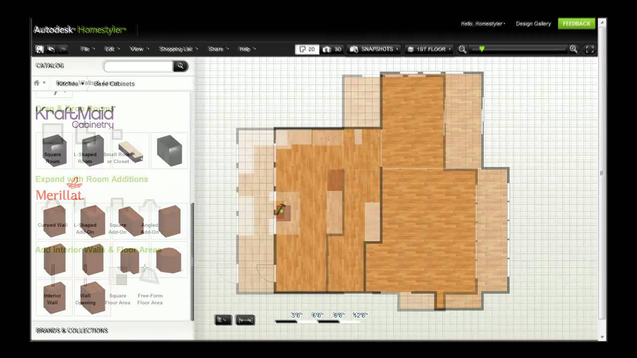 Autodesk Homestyler Furnish Your Design