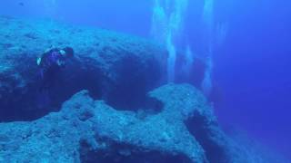 宮古島の代表的なダイビングポイントの、《アントニオガウディ》 沖縄恩...