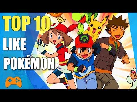 Top 10 Games Like Pokemon | Similar Games To Pokémon