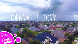 🌪TERRIFYING TORNADO BY OUR HOUSE!...EMERGENCY DRILLS😭 | Scott and Camber