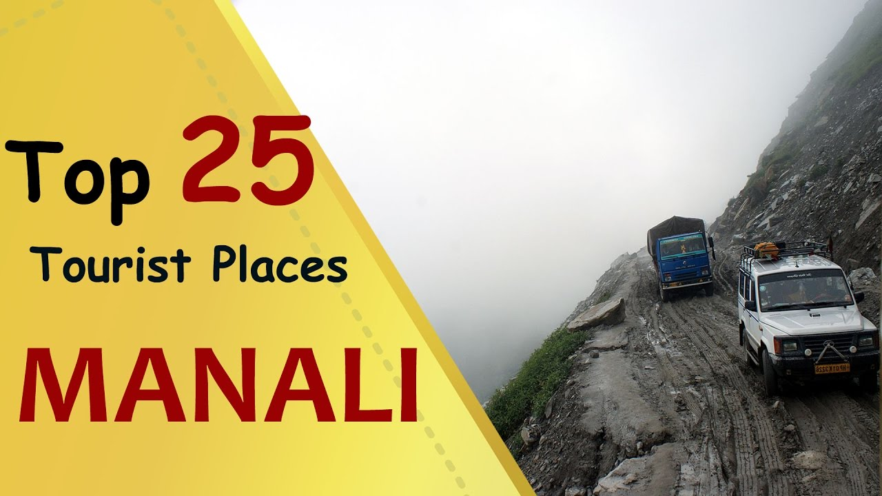 MANALI Top 25 Tourist Places  Manali Tourism  YouTube