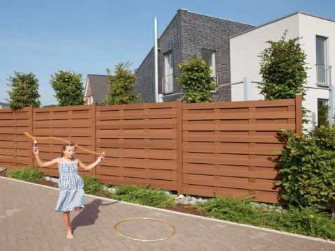 veranda composite picket fence youtube