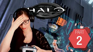 Halo: Combat Evolved Pt. 2 | No man left behind | Gaming with Tracy