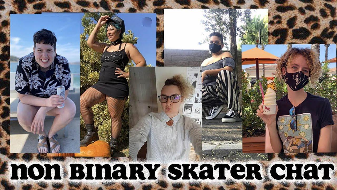 Non-Binary Roller Skater Chat
