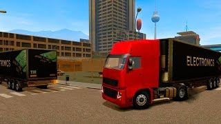 Euro Truck Driver - Android HD Gameplay Video