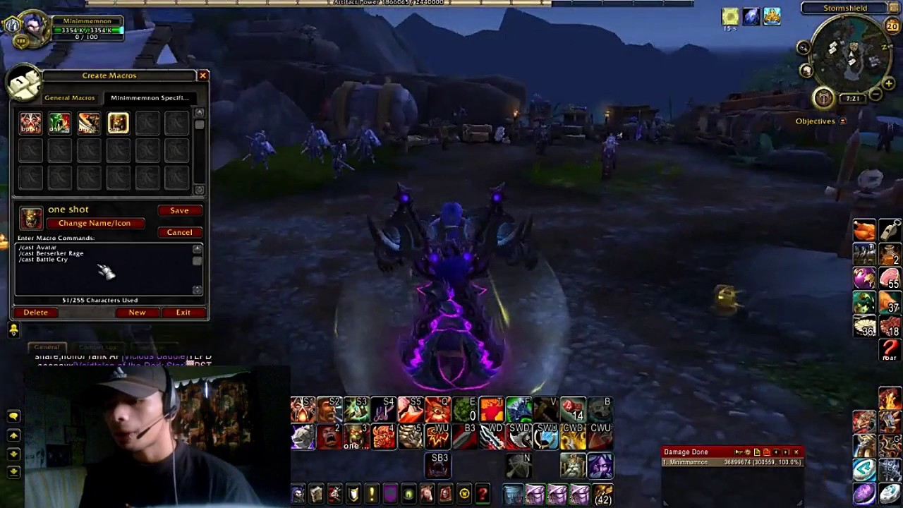 Fury warrior macros keybinds