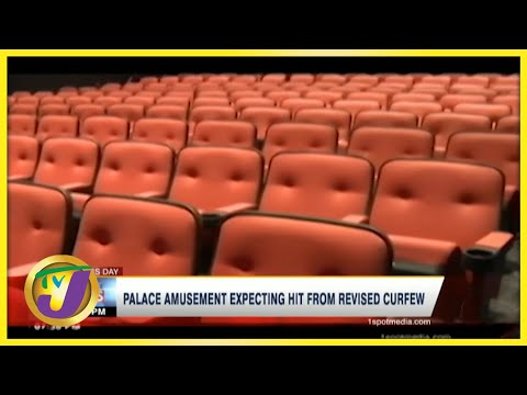 Palace Amusement Expecting Hit From Revised Curfew | TVJ Business Day - July 28 2021