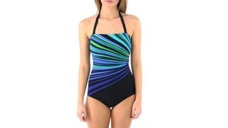 Reebok Fitness Swim Vanishing Light Strapless | SwimOutlet.com