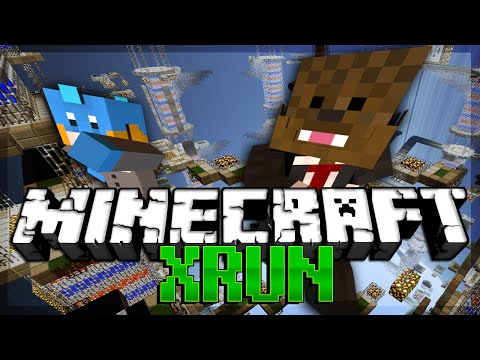 TROLLED in Minecraft XRUN (The Most Frustrating Game Ever)