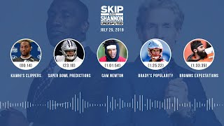 UNDISPUTED Audio Podcast (07.25.19) with Skip Bayless, Shannon Sharpe & Jenny Taft | UNDISPUTED