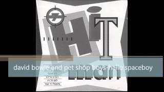 david bowie and pet shop boys - hallo spaceboy