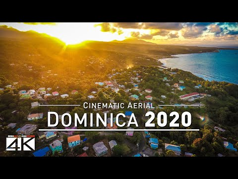 4K Drone Footage DOMINICA [DJI Phantom 4]
