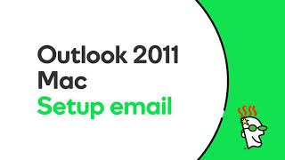 GoDaddy Office 365 Email Setup in Outlook 2011 Mac GoDaddy