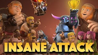 Craziest Attack Ever! Full House Strategy For TH9 | Impossible Clash Of Clans