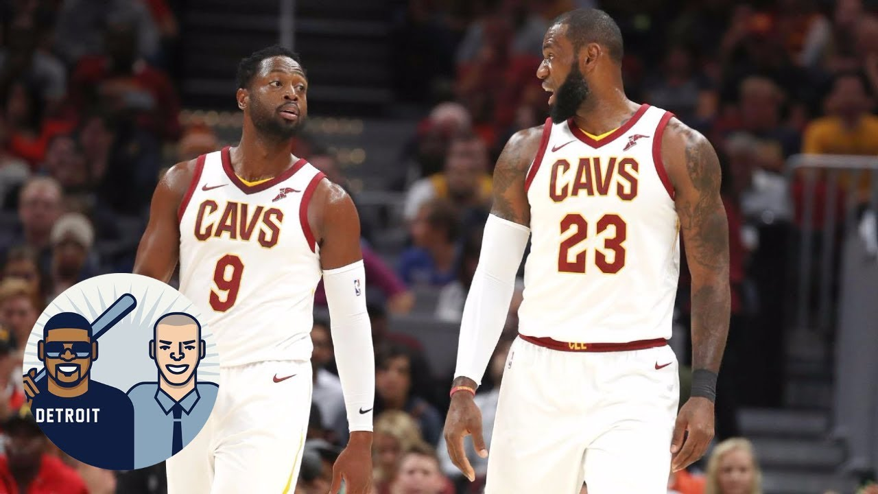 Dwyane Wade the only person in NBA who can clown LeBron James? | Jalen & Jacoby | ESPN